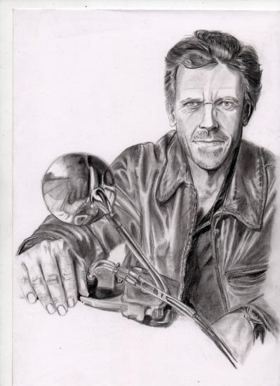 Hugh Laurie por zacke